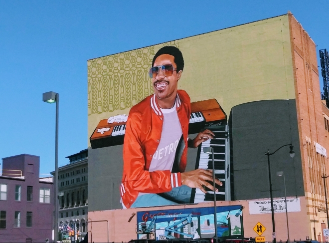 Stevie Wonder: Detroit